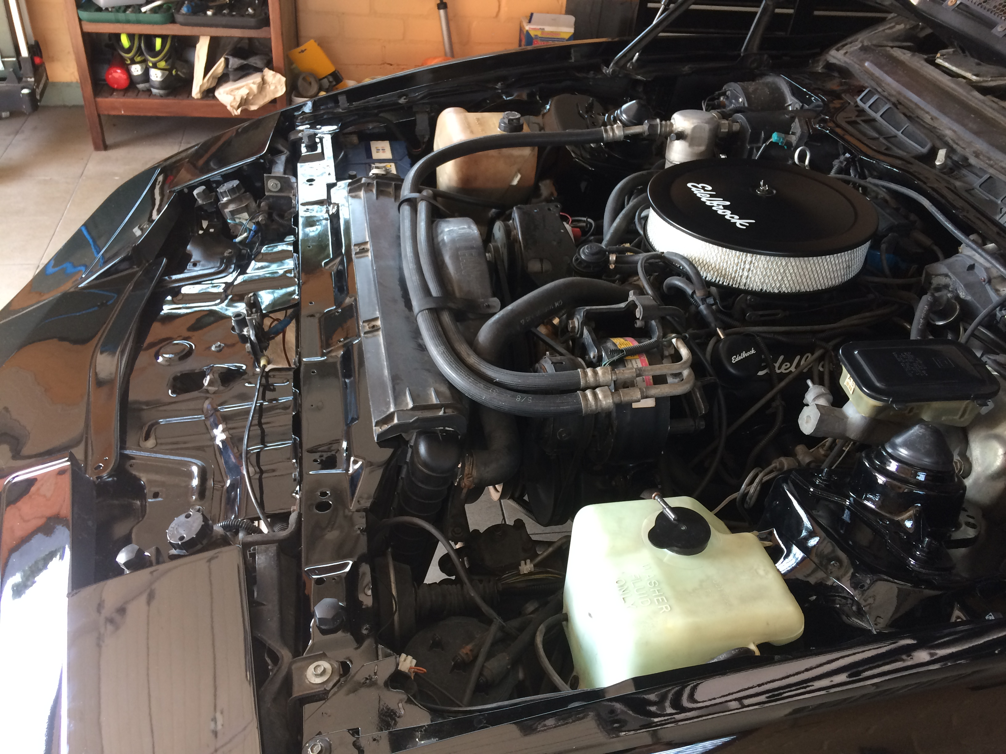 Edelbrock performance installed..