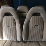 PMD seats covered new upholstery Knight Rider